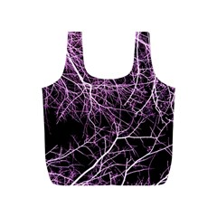 Purple Twigs Full Print Recycle Bags (s)  by timelessartoncanvas