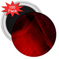 Red Abstract 3  Magnets (100 Pack) by timelessartoncanvas