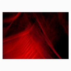 Red Abstract Large Glasses Cloth by timelessartoncanvas