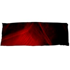 Red Abstract Body Pillow Cases Dakimakura (two Sides)  by timelessartoncanvas