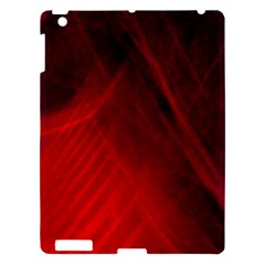 Red Abstract Apple Ipad 3/4 Hardshell Case by timelessartoncanvas