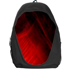 Red Abstract Backpack Bag by timelessartoncanvas