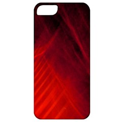 Red Abstract Apple Iphone 5 Classic Hardshell Case by timelessartoncanvas