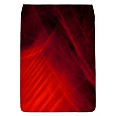 Red Abstract Flap Covers (l)  by timelessartoncanvas