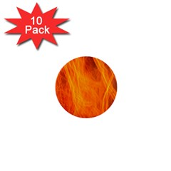 Orange Wonder 2 1  Mini Buttons (10 Pack)  by timelessartoncanvas