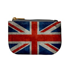 Union Jack 3x5 V10 Vintage Bright Print F Sml Mini Coin Purses by bruzer