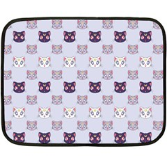 Sailor Moon Cats Mini Fleece Blanket (single Sided)