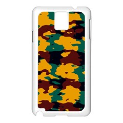 Camo Texture			samsung Galaxy Note 3 N9005 Case (white) by LalyLauraFLM