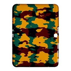 Camo Texture			samsung Galaxy Tab 4 (10 1 ) Hardshell Case by LalyLauraFLM