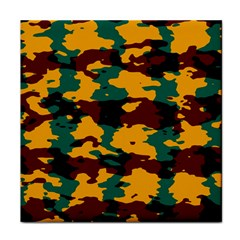 Camo Texture 			face Towel by LalyLauraFLM