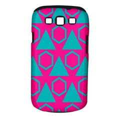 Triangles And Honeycombs Pattern 			samsung Galaxy S Iii Classic Hardshell Case (pc+silicone) by LalyLauraFLM