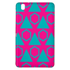 Triangles And Honeycombs Pattern 			samsung Galaxy Tab Pro 8 4 Hardshell Case by LalyLauraFLM