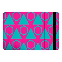 Triangles And Honeycombs Pattern 			samsung Galaxy Tab Pro 10 1  Flip Case by LalyLauraFLM