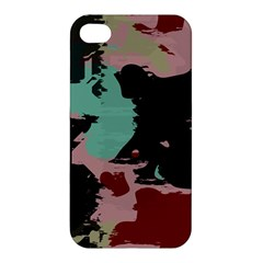 Retro Colors Texture Apple Iphone 4/4s Hardshell Case by LalyLauraFLM