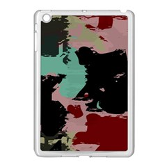 Retro Colors Texture 			apple Ipad Mini Case (white) by LalyLauraFLM