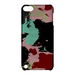 Retro Colors Texture 			apple Ipod Touch 5 Hardshell Case With Stand by LalyLauraFLM