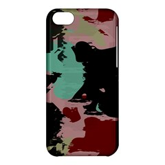 Retro Colors Texture 			apple Iphone 5c Hardshell Case by LalyLauraFLM