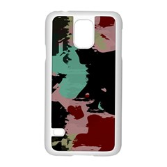 Retro Colors Texture 			samsung Galaxy S5 Case (white) by LalyLauraFLM