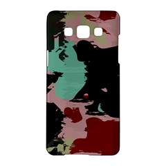 Retro Colors Texture 			samsung Galaxy A5 Hardshell Case by LalyLauraFLM