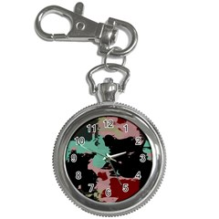 Retro Colors Texture 			key Chain Watch by LalyLauraFLM