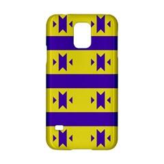 Tribal Shapes And Stripes 			samsung Galaxy S5 Hardshell Case by LalyLauraFLM