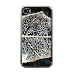 Modern Leaf Apple Iphone 4 Case (clear) by timelessartoncanvas