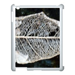 Modern Leaf Apple Ipad 3/4 Case (white) by timelessartoncanvas