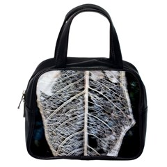 Modern Leaf 2 Classic Handbags (one Side) by timelessartoncanvas