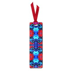 Red Black Blue Art Pattern Abstract Small Book Marks by Costasonlineshop