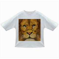 Regal Lion Drawing Infant/toddler T Shirts by KentChua