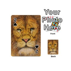 Regal Lion Drawing Playing Cards 54 (mini)