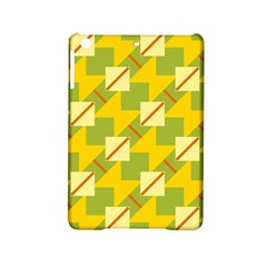 Squares And Stripes 			apple Ipad Mini 2 Hardshell Case by LalyLauraFLM