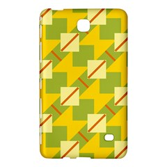 Squares And Stripes 			samsung Galaxy Tab 4 (8 ) Hardshell Case by LalyLauraFLM