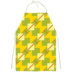Squares And Stripes 			full Print Apron by LalyLauraFLM