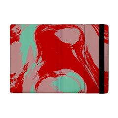 Red Pink Green Texture 			apple Ipad Mini 2 Flip Case by LalyLauraFLM