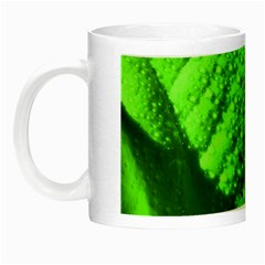 Green And Powerful Night Luminous Mugs by timelessartoncanvas
