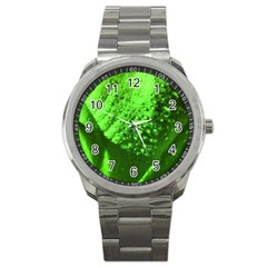 Green And Powerful Sport Metal Watches by timelessartoncanvas