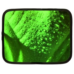 Green And Powerful Netbook Case (xxl)  by timelessartoncanvas