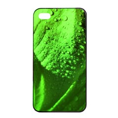 Green And Powerful Apple Iphone 4/4s Seamless Case (black) by timelessartoncanvas