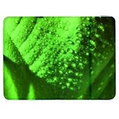 Green And Powerful Samsung Galaxy Tab 7  P1000 Flip Case by timelessartoncanvas