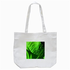 Green And Powerful Tote Bag (white)  by timelessartoncanvas