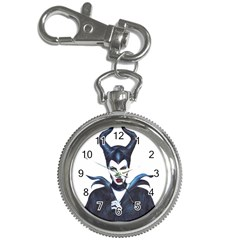 Maleficent Drawing Key Chain Watches by KentChua