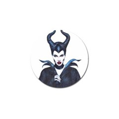 Maleficent Drawing Golf Ball Marker