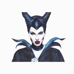 Maleficent Drawing Collage 12  X 18  by KentChua