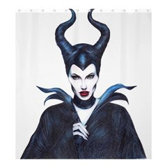 Maleficent Drawing Shower Curtain 66  X 72  (large)  by KentChua