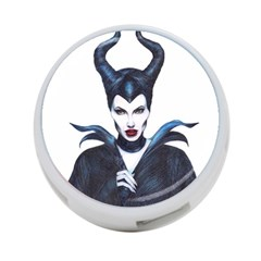Maleficent Drawing 4 Port Usb Hub (two Sides)