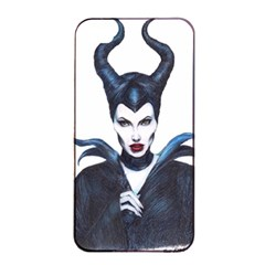 Maleficent Drawing Apple Iphone 4/4s Seamless Case (black) by KentChua