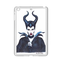 Maleficent Drawing Ipad Mini 2 Enamel Coated Cases by KentChua