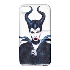 Maleficent Drawing Apple Iphone 4/4s Hardshell Case With Stand by KentChua