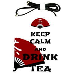 Keep Calm And Drink Tea - Asia Edition Shoulder Sling Bags